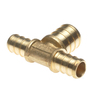 Vanguard 10-Pack 1/2-in Dia. Brass PEX Tee Crimp Fitting