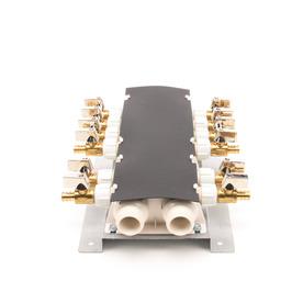 Apollo 1/2-in x 3/4-in dia Brass/Plastic PEX Manifold Crimp Fitting