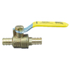 Apollo 1/2-in dia Brass PEX Ball Valve Crimp Fitting