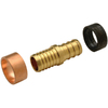 Apollo 3/4-in dia Brass PEX Transition Coupling Crimp Fitting