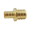 Apollo 1/2-in x 3/4-in Dia. Brass Pex Coupling Crimp Fitting