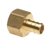 Apollo 1-in dia Brass PEX Female Adapter Crimp Fitting