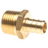 Apollo 3/4-in Dia. Brass PEX Male Adapter Crimp Fitting