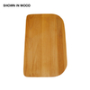 Swanstone 17-in L x 11-in W Wood Cutting Board