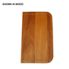 Swanstone 11-in L x 17-in W Wood Cutting Board