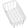 Swanstone 12.25-in W x 14.24-in L x 5.25-in H Metal Dish Rack
