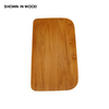 Swanstone 16-in L x 9-1/4-in W Wood Cutting Board