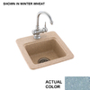 Swanstone Drop-in or Undermount Composite Entertainment Sink