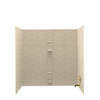 Swanstone Solid Surface Bathtub Wall Surround (Common: 30-in x 60-in; Actual: 60-in x 30-in x 60-in)