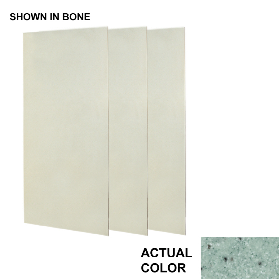 composite shower wall surround side and back panels at