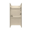 Swanstone 32-in W x 32-in L x 72-in H Tahiti Desert Shower Wall Surround Side and Back Panel