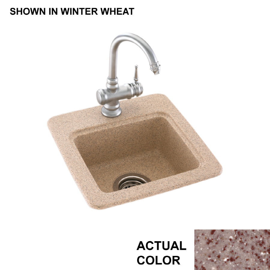 Shop swanstone drop in or undermount composite for Swanstone undermount sinks