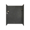 Swanstone 60-in W x 32-in L x 72-in H Indian Grass Shower Wall Surround Side and Back Panel