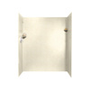 Swanstone 60-in W x 34-in L x 72-in H Pebble Shower Wall Surround Side and Back Panel