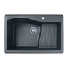 Swanstone Single-Basin Drop-in or Undermount Composite Kitchen Sink
