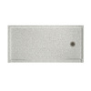 Swanstone Solid Surface Shower Base (Common: 30-in W x 60-in L; Actual: 30-in W x 60-in L)