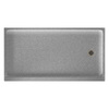 Swanstone Fiberglass and Plastic Composite Shower Base (Common: 32-in W x 60-in L; Actual: 32-in W x 60-in L)