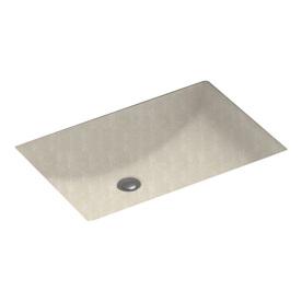 Swanstone cloud bone solid surface undermount rectangular for Swanstone undermount sinks