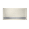 Swanstone Solid Surface Shower Base (Common: 64-in W x 34-in L; Actual: 64.25-in W x 34.125-in L)
