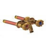 Woodford 4-in L 1/2-in Dual Pattern Brass Frost Proof Sillcock Valve