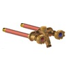 Woodford 10-in L 1/2-in Dual Pattern Brass Frost Proof Sillcock Valve