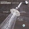 Speakman Alexandria 4.5-in 2.0-GPM (7.6-LPM) Polished Chrome 3-Spray WaterSense Showerhead