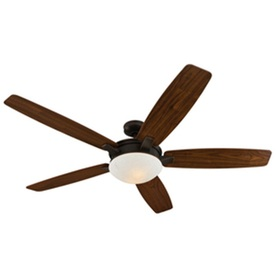 Harbor Breeze 70-in Oil-Rubbed Bronze Ceiling Fan with Light Kit ENERGY STAR