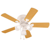 Harbor Breeze Centreville 42-in White Flush Mount Indoor Ceiling Fan with Light Kit