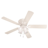Harbor Breeze 52-in Centreville White Ceiling Fan with Light Kit