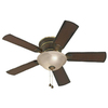 Harbor Breeze 44-in Keyport Walnut Ceiling Fan with Light Kit
