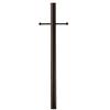 Portfolio Bronze 80-in Post Light Pole