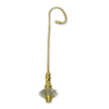 Harbor Breeze 7-in Brass Acrylic Pull Chain