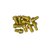 Harbor Breeze 10-Pack Brass Ceiling Fan Motor Screws