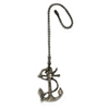 Harbor Breeze 7-in Brushed Nickel Zinc Pull Chain