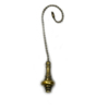 Harbor Breeze 7-in Antique Brass Zinc Pull Chain