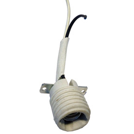 Harbor Breeze 60-Watt White Lamp Socket