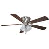 Harbor Breeze Centerville 52-in Flush Mount Indoor Ceiling Fan with Light Kit