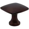 allen + roth Bronze Square Cabinet Knob