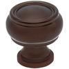 allen + roth Aged Bronze Round Cabinet Knob