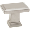 Style Selections Grayson Satin Nickel Rectangular Cabinet Knob