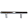 Style Selections 3-in Center-To-Center Chrome Bar Cabinet Pull