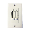 Harbor Breeze Off-White Wall-Mount Universal Ceiling Fan Remote Control