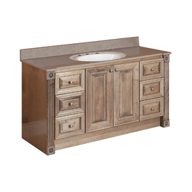 Magick Woods 54 Rustic Glazed Duchess Traditional Bath Vanity