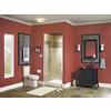 Magick Woods Stayton 22-in W x 30-in H Espresso Rectangular Bathroom Mirror
