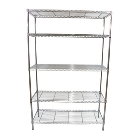 "Real Organized 74""H x  48""W x  18""D Steel Freestanding Shelving Unit"