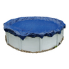 Blue Wave 22-ft x 22-ft Gold Polyethylene Winter Pool Cover