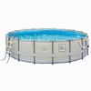 PRO Series 15-ft x 15-ft x 48-in Round Above-Ground Pool