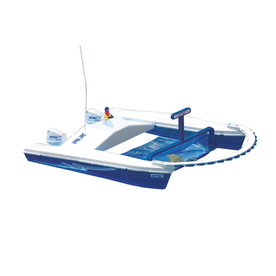 Shop Swim Time White Blue Motorized Swimming Pool Toy At