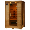 Radiant 75-in H x 39.25-in W x 47.25-in D Hemlock Fir Wood Sauna