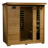 Radiant 75-in H x 46-in W x 72-in D Hemlock Fir Wood Sauna